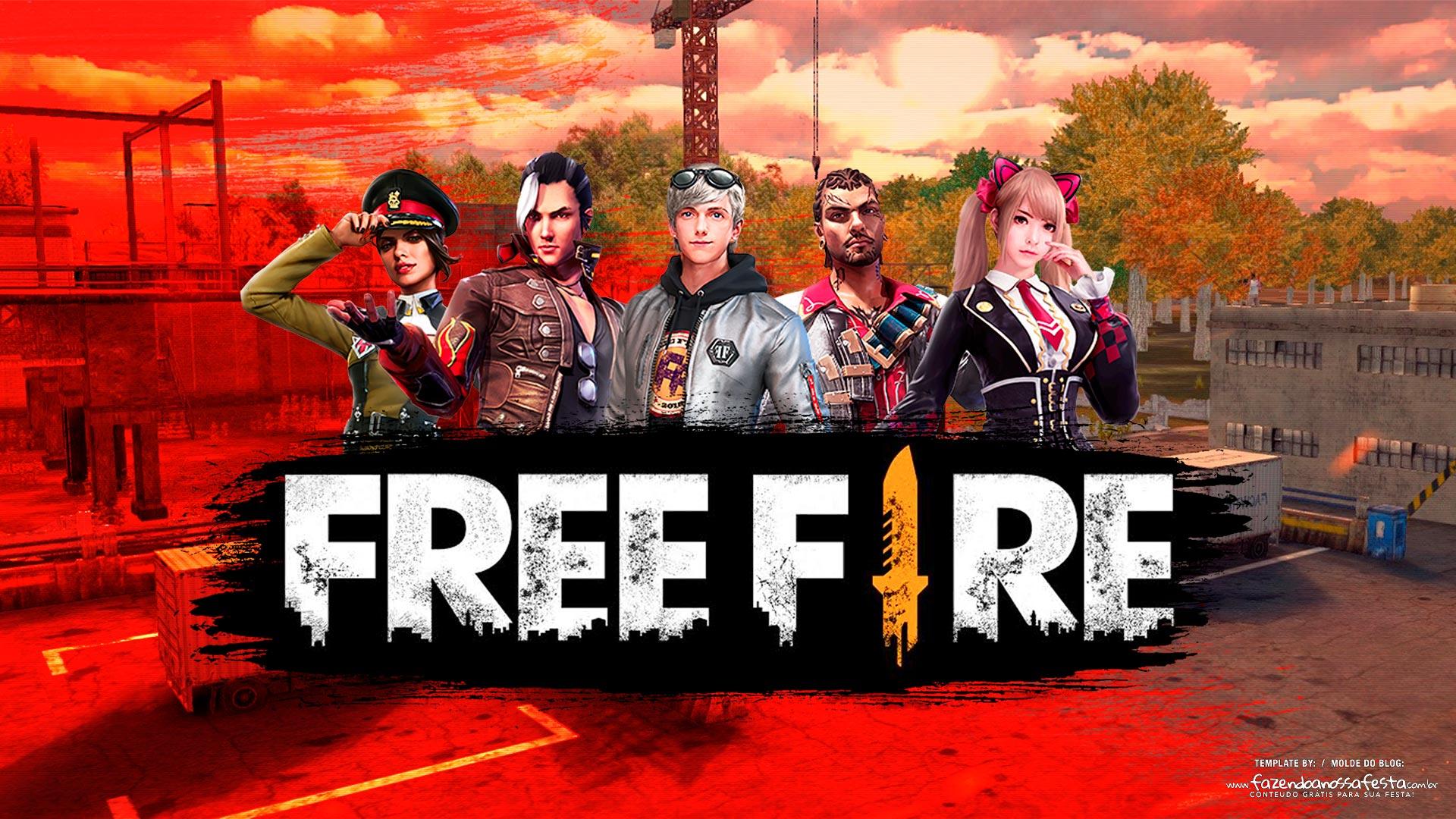 Hình nền game free fire