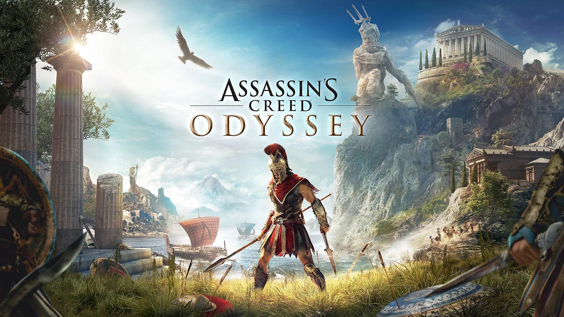 Hình nền PC 4k game đẹp nhất - Assassin's Creed Odyssey