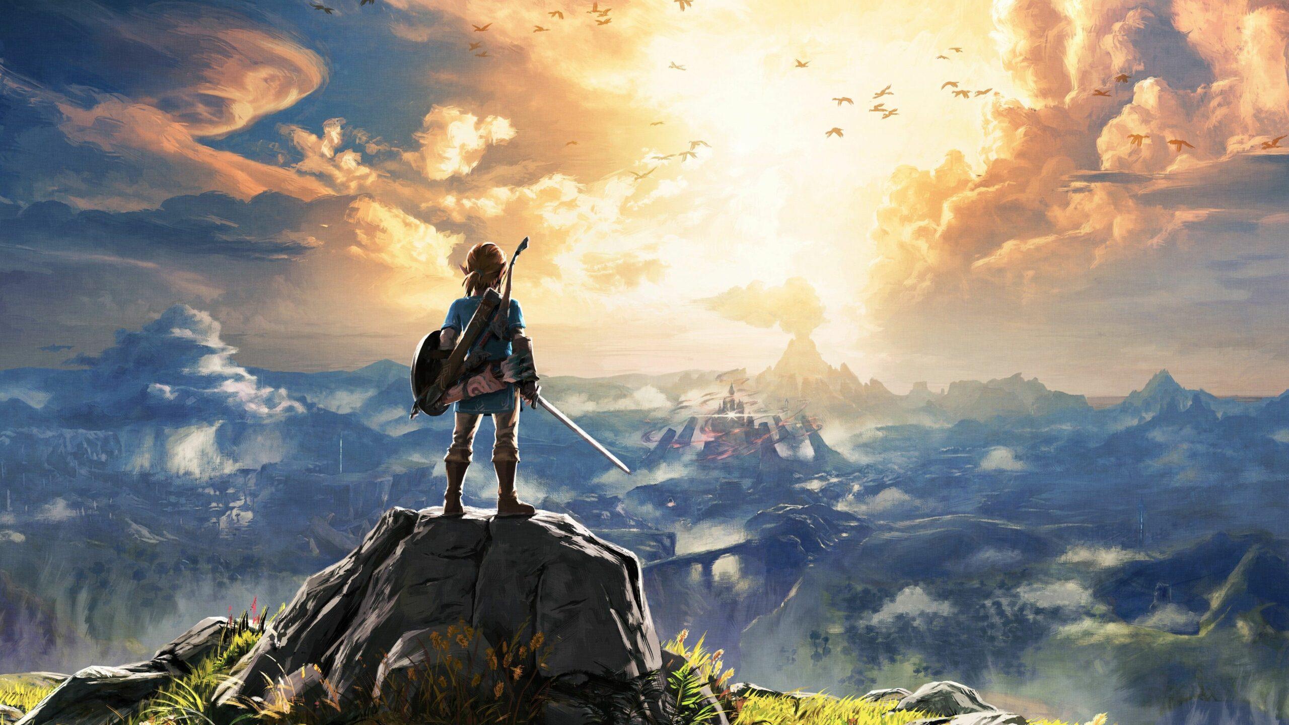 Hình nền PC 4k game đẹp nhất - The Legend of Zelda