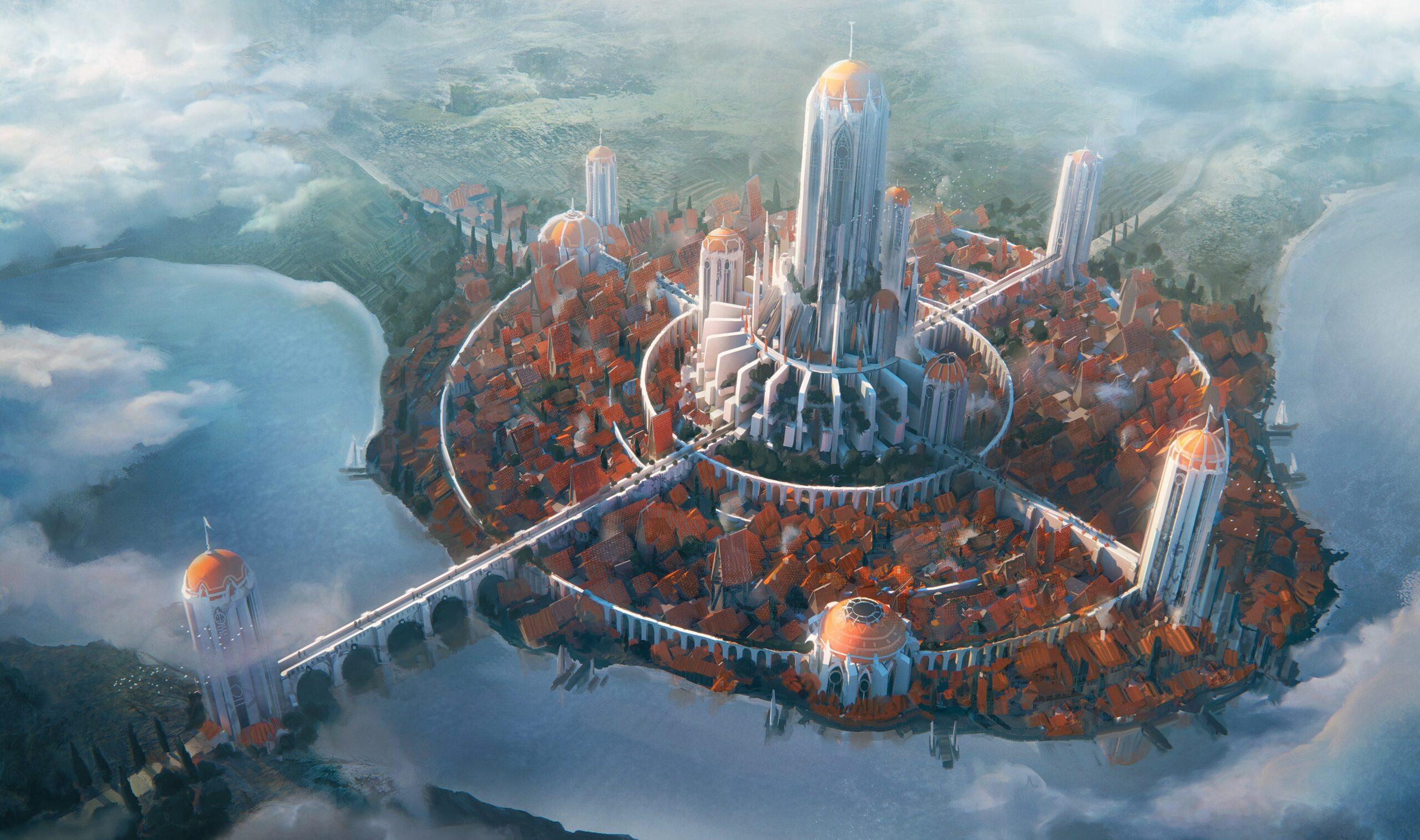 Hình nền PC 4k game đẹp nhất - Imperial City