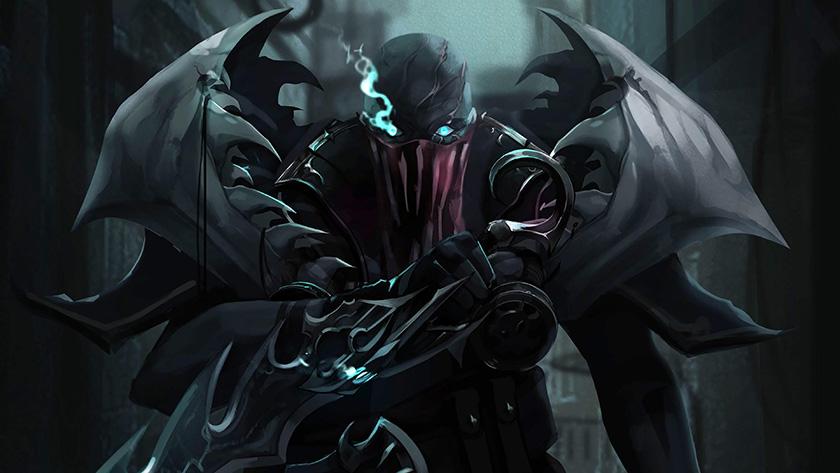Hình nền Pyke game Liên Minh Huyền Thoại 4k - League of Legends theme