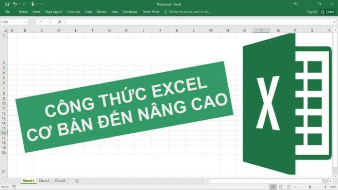 Tổng hợp các công thức Excel cơ bản đến nâng cao đầy đủ