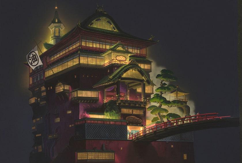 Hình nền máy tính Anime Spirit Away