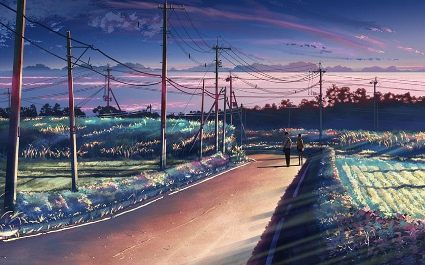 Hình nền máy tính Anime phim 5 Centimeters Per Second