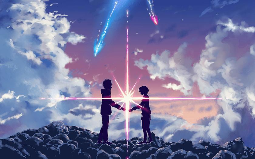 hình nền máy tính Anime 4K phim Your Name