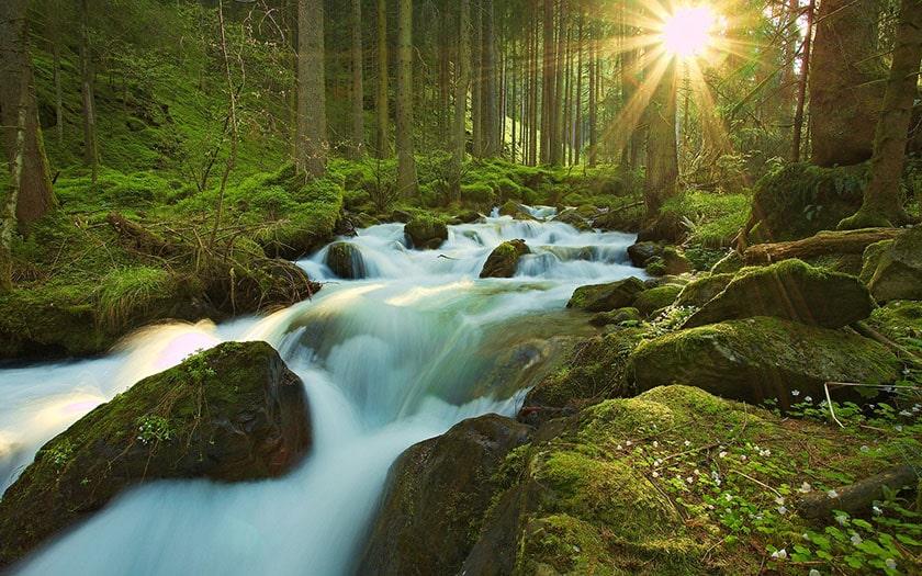 Hình nền Macbook chủ đề thiên nhiên