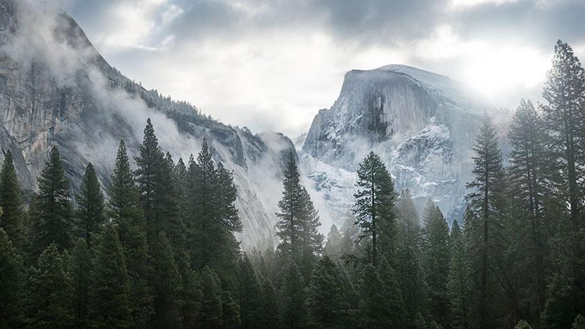 Hình nền Macbook đẹp chất lượng 4K hình núi (Macbook Pro, Macbook Air)