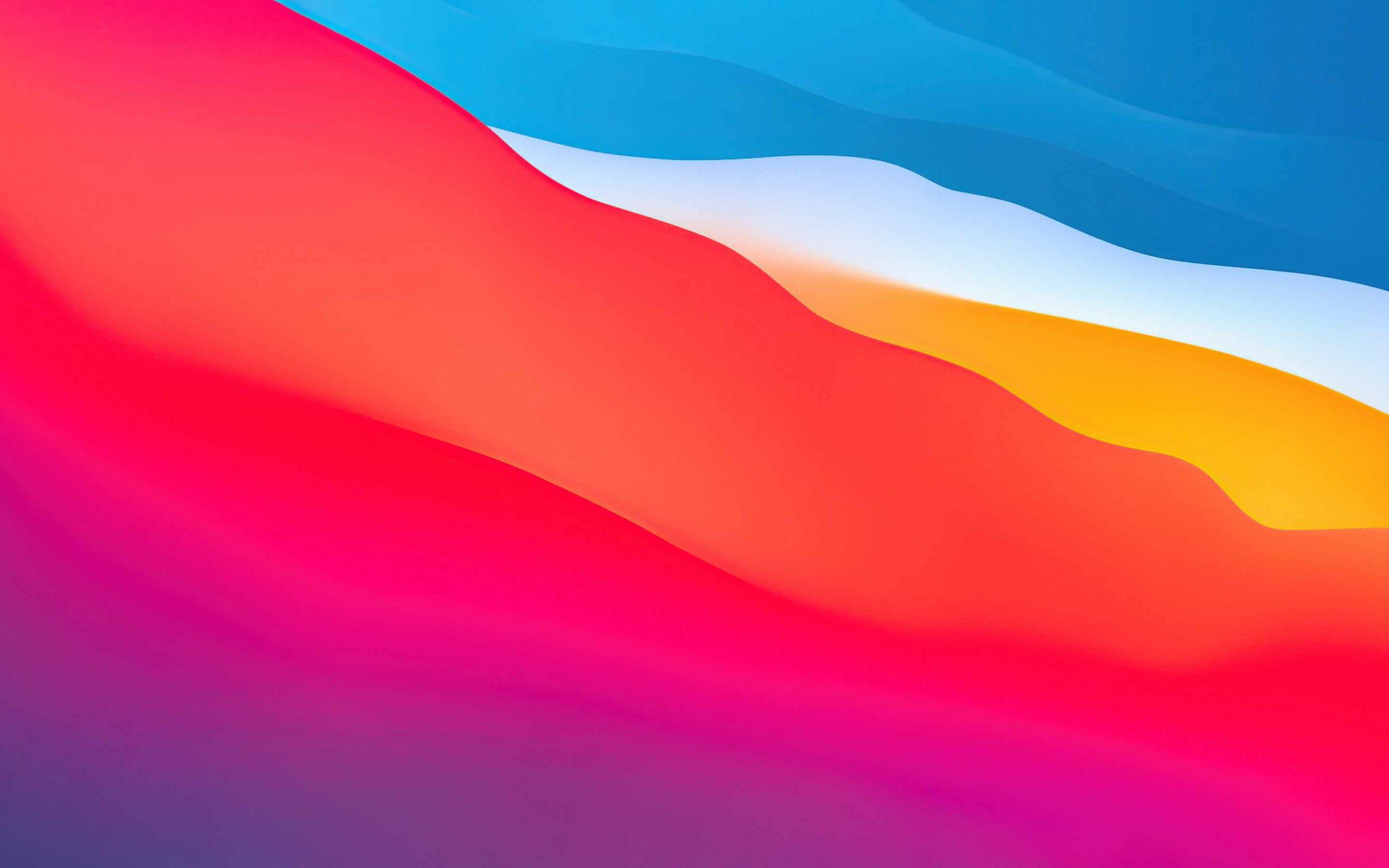 Hình nền Macbook Big Sur - Gradients
