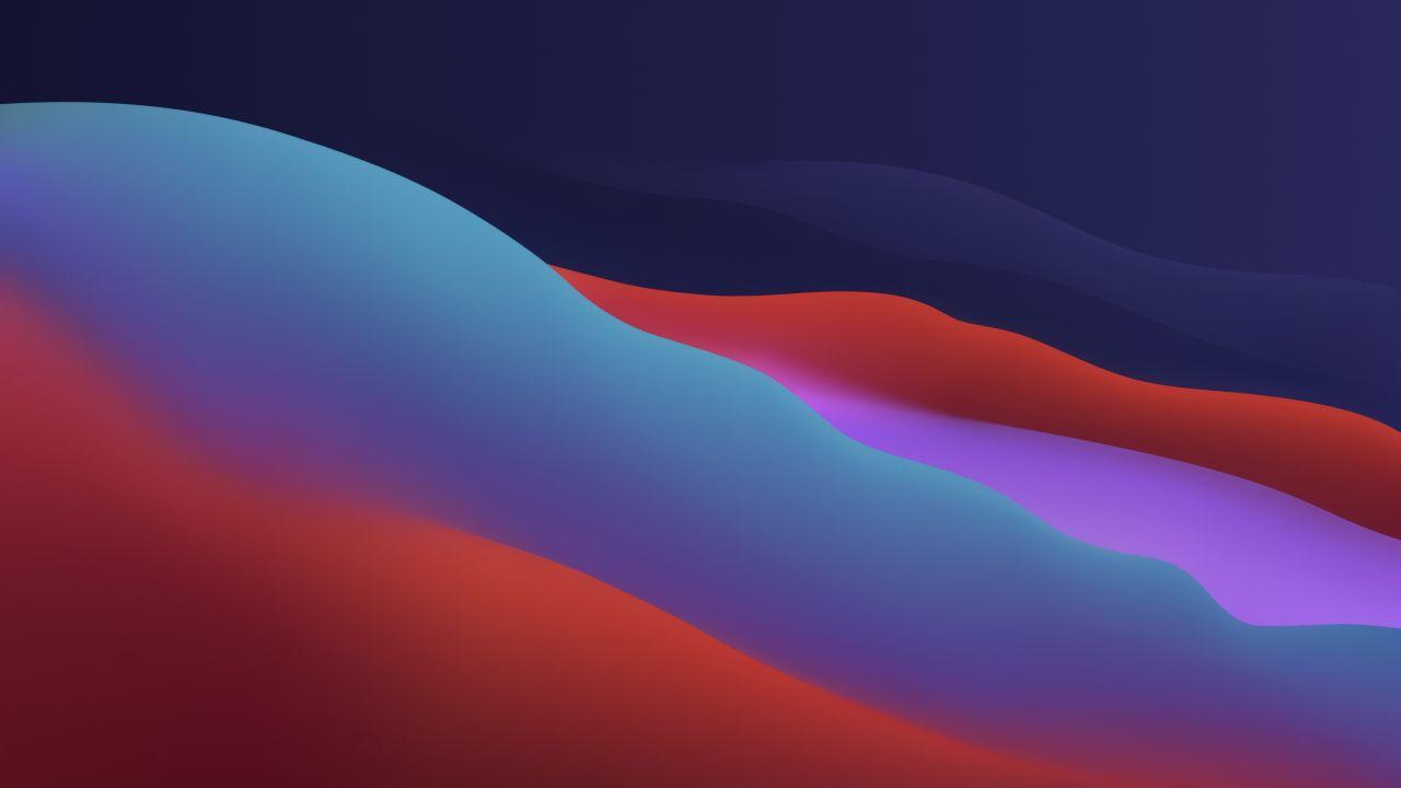 Hình nền Macbook Big Sur 4k Gradients