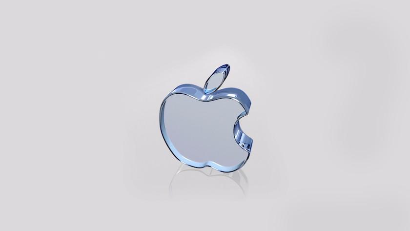 Hình nền, theme desktop 3d logo Apple