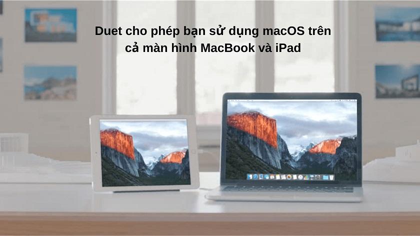 Duet - phần mềm cần thiết cho MacBook