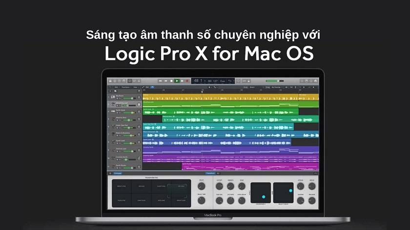 Logic Pro X - phần mềm cần thiết cho MacBook