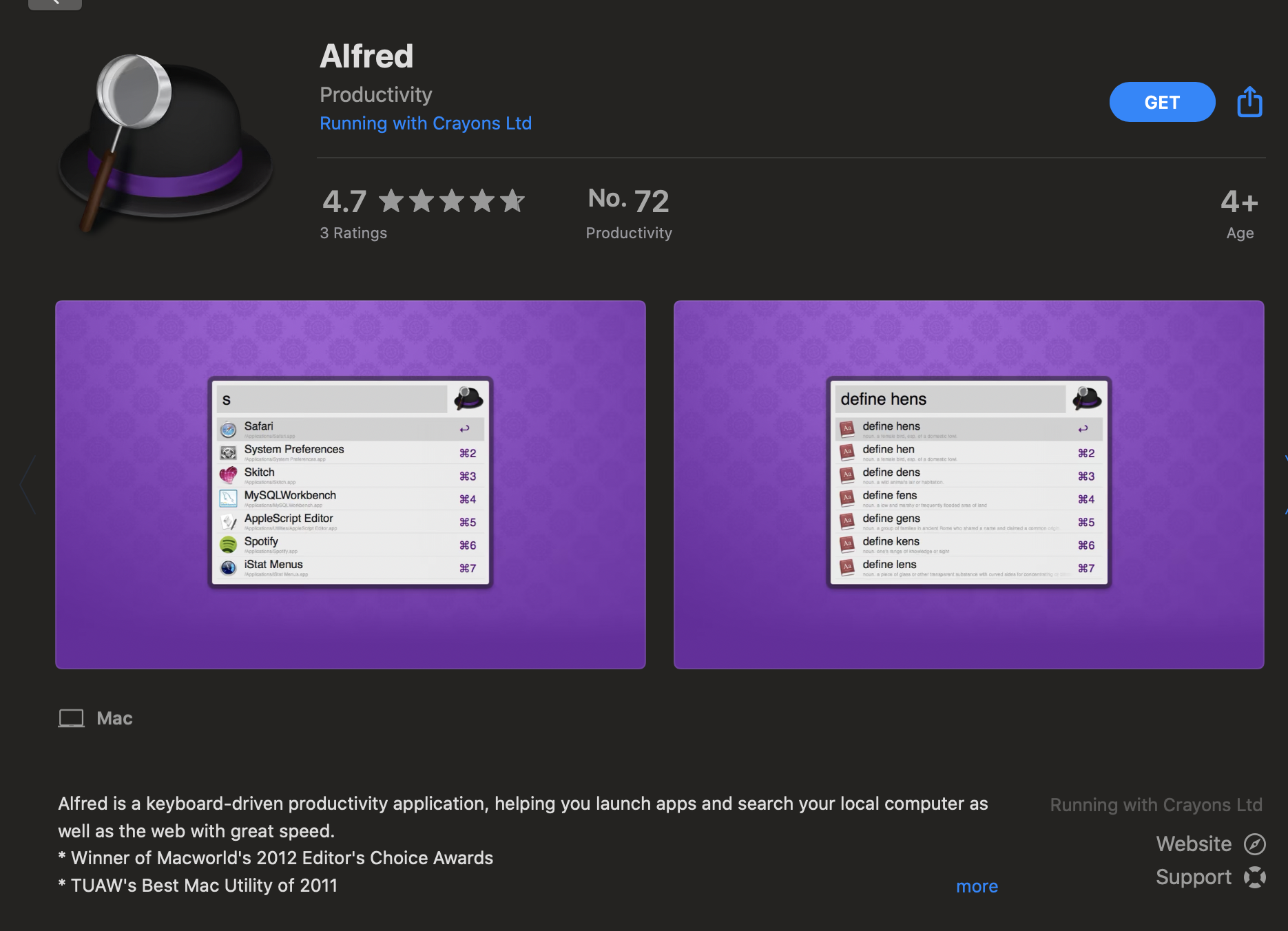 Alfred - phần mềm cần thiết cho Macbook