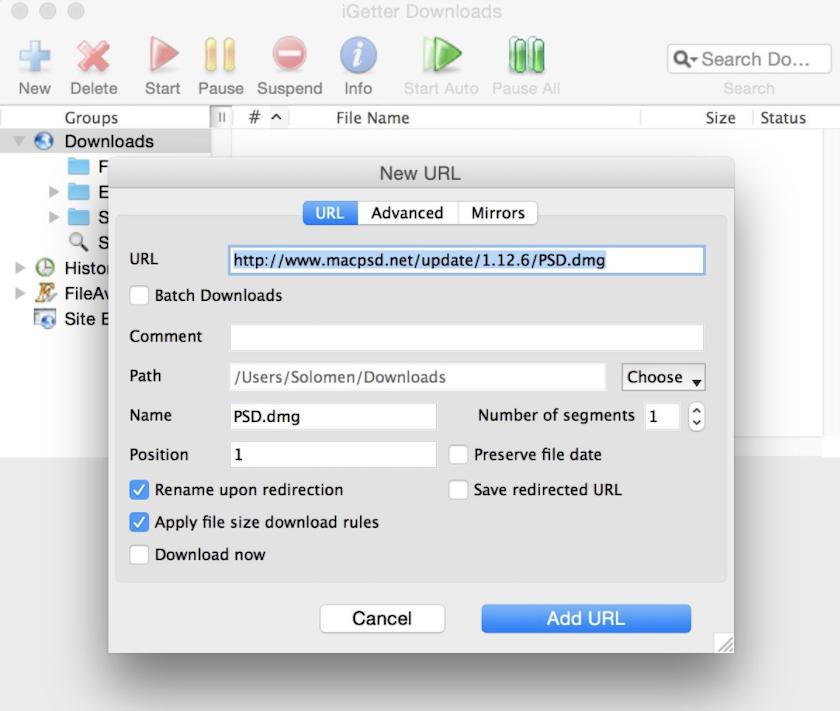 Phần mềm download cho Macbook iGetter