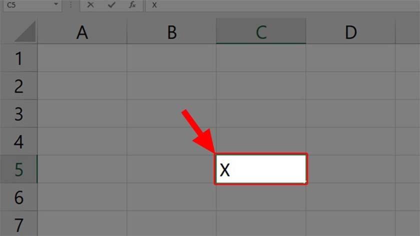 Cách viết số mũ trong Excel bằng Format Cells