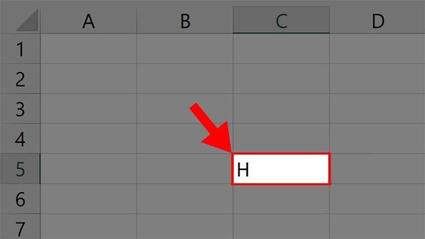 Cách viết số mũ trong Excel dưới bằng Format Cells