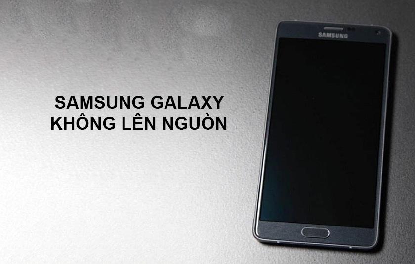 Điện thoại Samsung Galaxy không lên nguồn