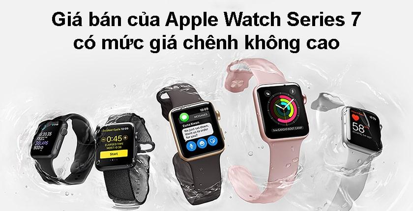 So sánh giá bán Apple Watch Series 7 với Series 6