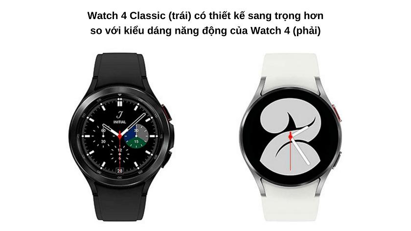 So sánh chi tiết Galaxy Watch 4 và Galaxy Watch 4 Classic