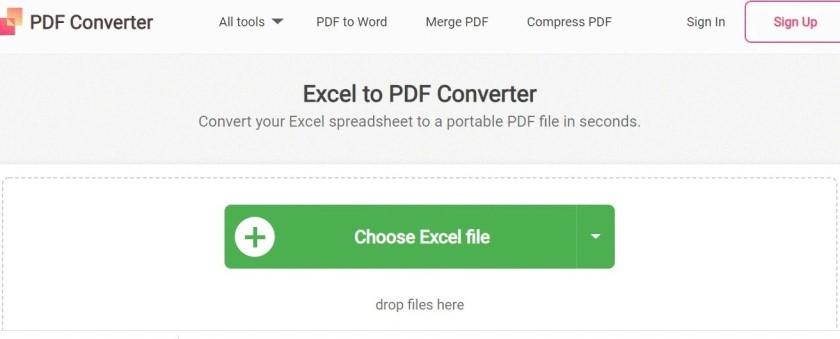 Chuyển đổi sang PDF online bằng PDF Converter Online