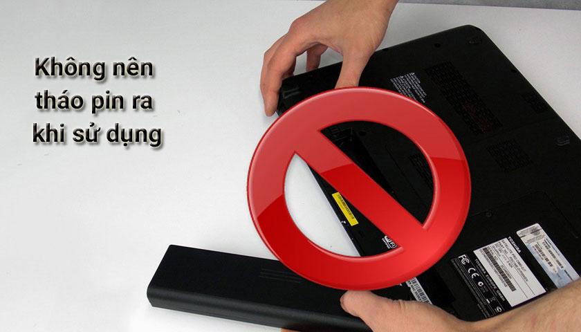 Cách sử dụng và sạc pin laptop đúng cách