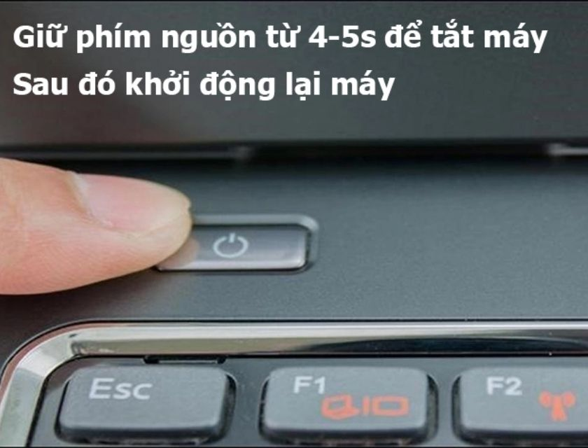 Cách khắc phục nhanh laptop bật không lên nguồn