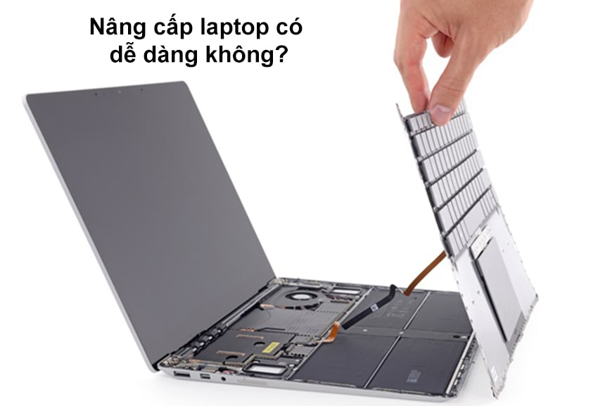 Nâng cấp laptop có dễ dàng không?