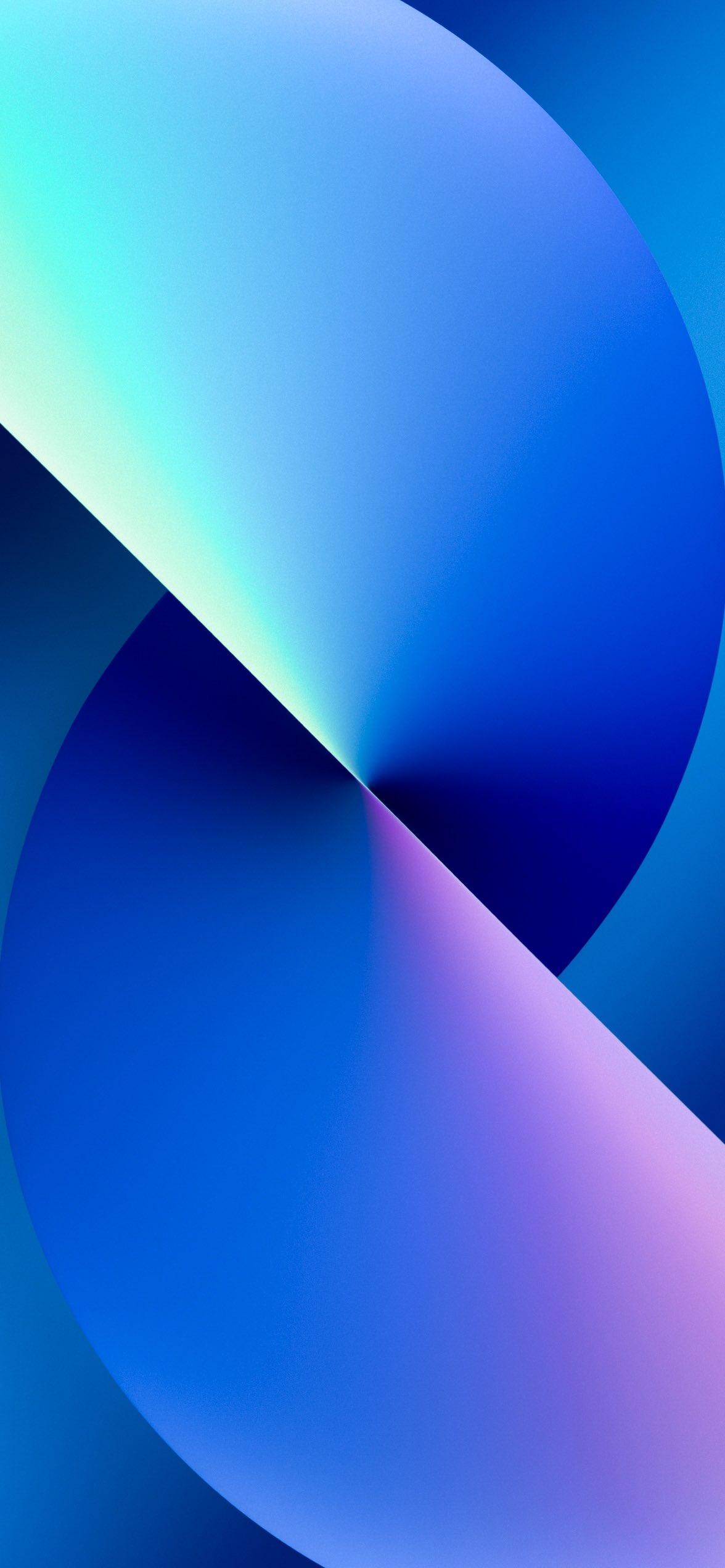 Hình nền iPhone 13 4k - xanh dương