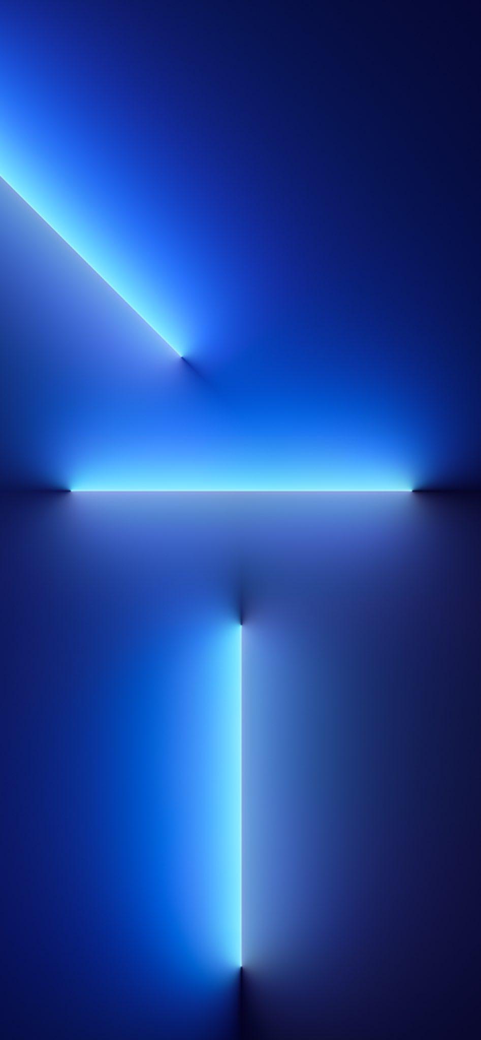 Hình nền iPhone 13 4k Promax - xanh dương gardient