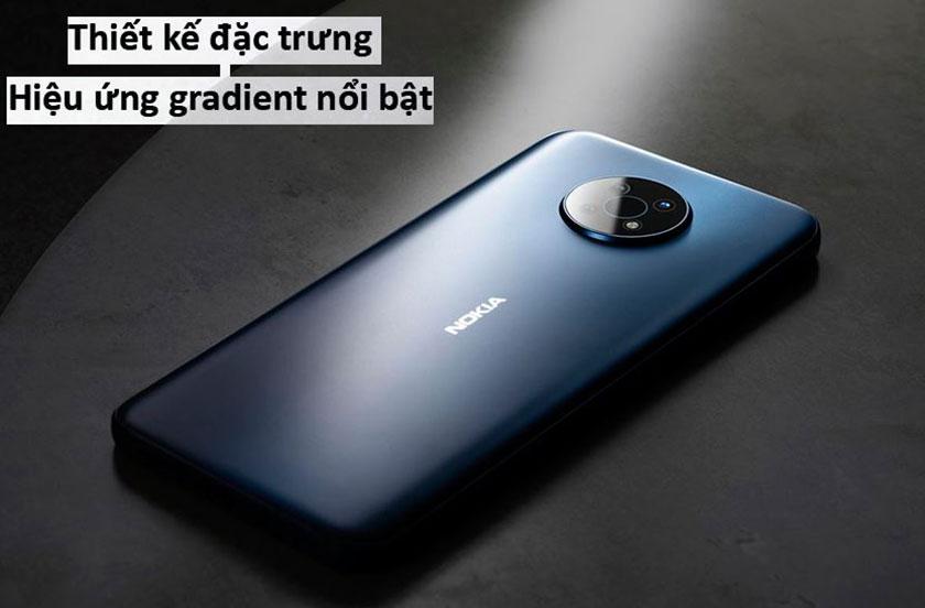Thiết kế điện thoại Nokia G50 sang trọng